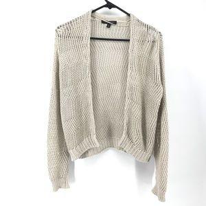Oatmeal Banana Republic Italian Linen Sweater Med